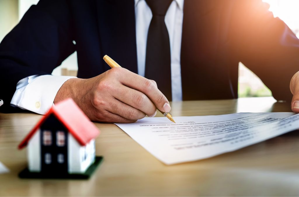 adjuster signing documents