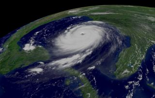 hurricane in Gulf